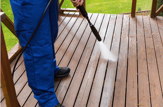 deck cleaning baytown